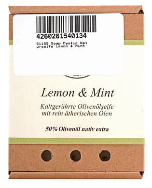 Soap Mystic Naturseife Lemon & Mint 110g