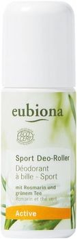 Eubiona Deo-Roller Rosmarin-Grüner Tee 50ml