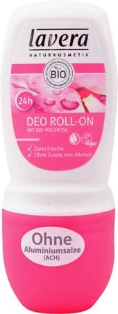 Lavera 24h Deo Roll-on mit Bio-Wildrose 50ml